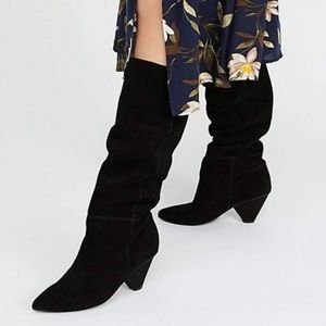 New JEFFREY CAMPBELL Senita Modern Slouchy Boots